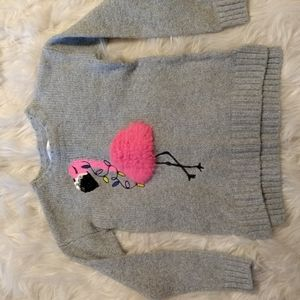 Girls size 8 justice sweater